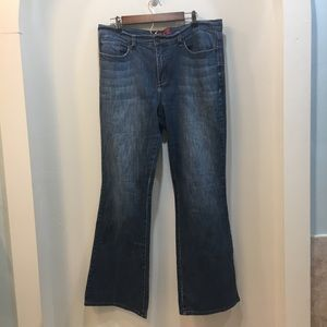 New York and Company West Side Flare Jeans